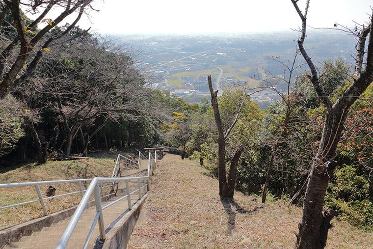 みかも山頂神社からの景色