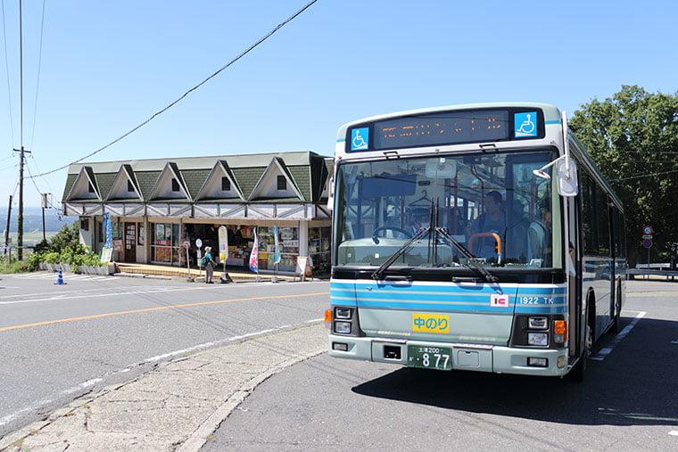 筑波山行きシャトルバス
