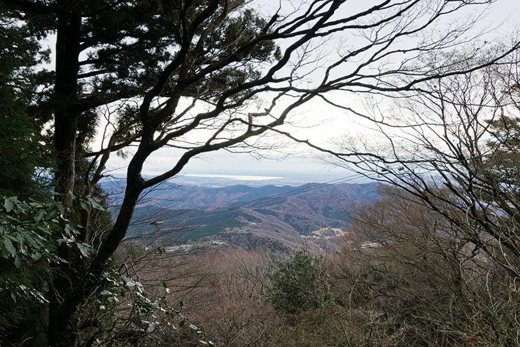 弁慶茶屋跡からの眺望