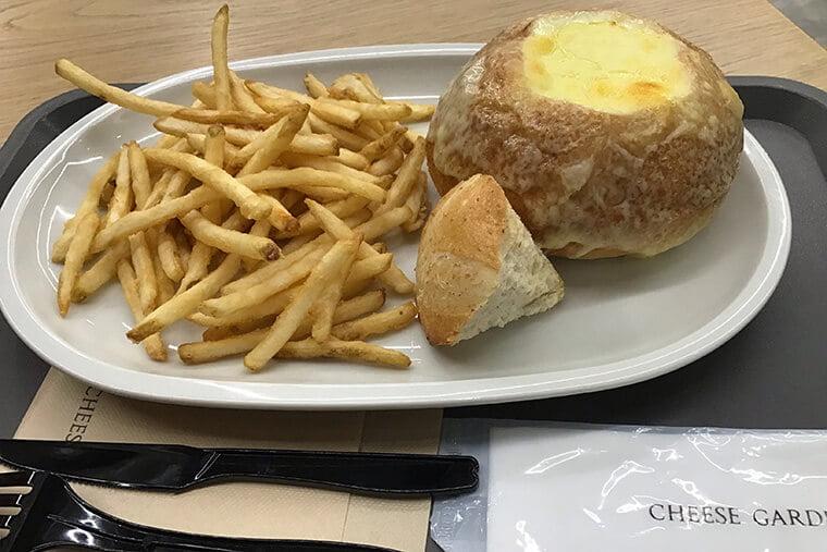 チーズバンデュ