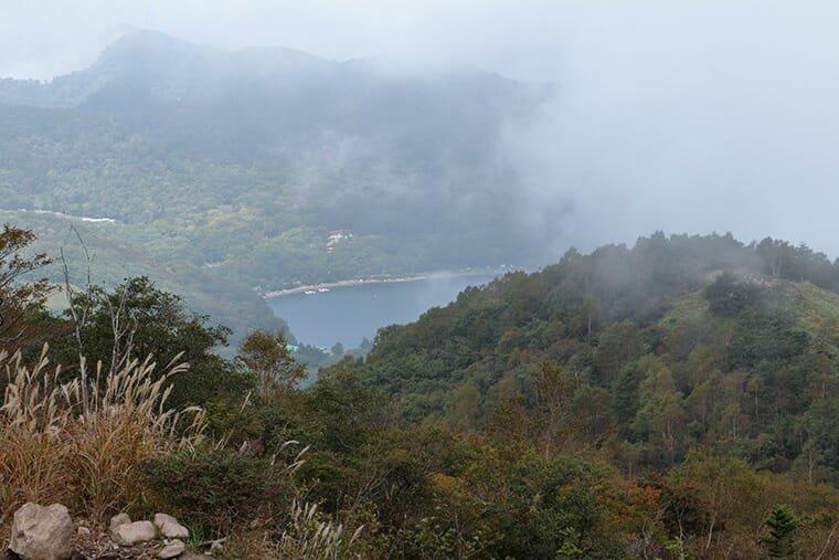 地蔵岳から大沼