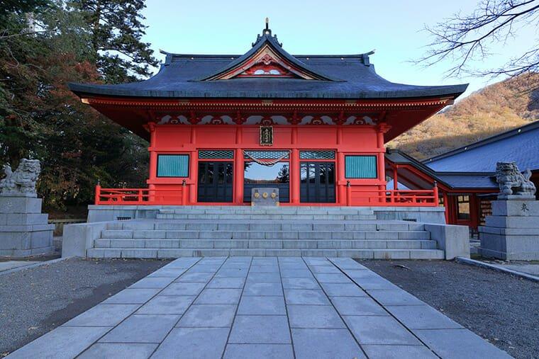 赤城神社 本殿