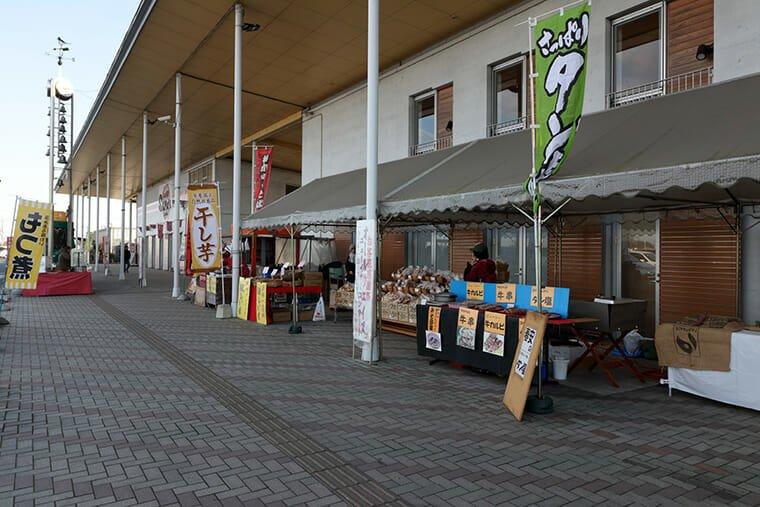 道の駅 思川の出店
