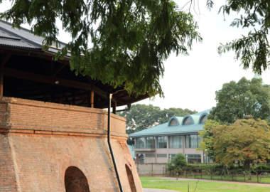 野木町煉瓦窯の外観