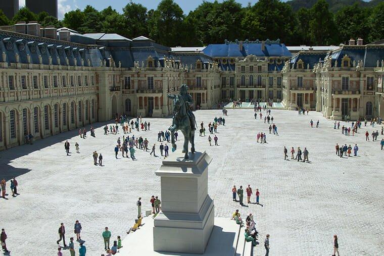 ベルサイユ宮殿のミニチュア