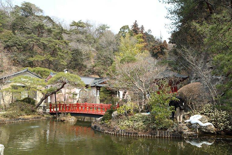 大谷寺の日本庭園