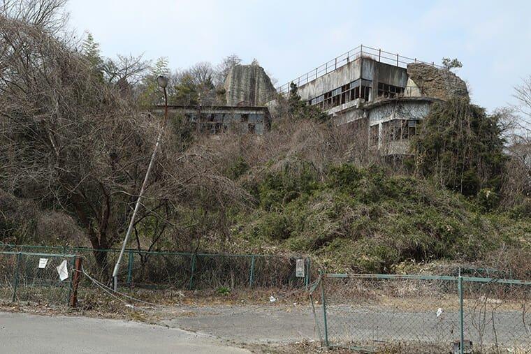 大谷町の廃墟のスナップ
