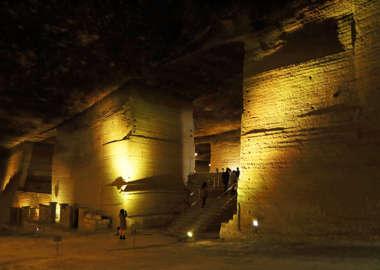 大谷資料館の地下空間