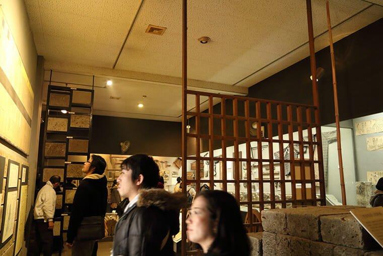 大谷資料館の資料展示室