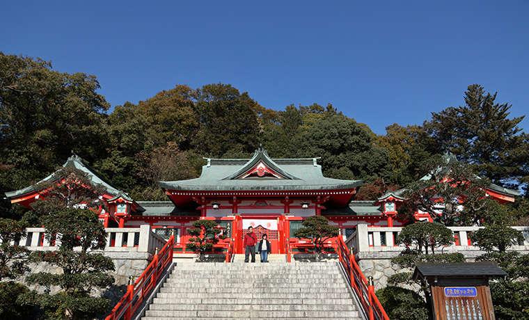 足利織姫神社の社殿