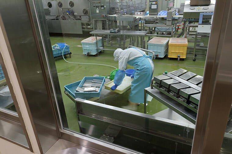 明太子工場風景