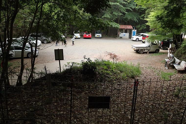 阿夫利神社駐車場
