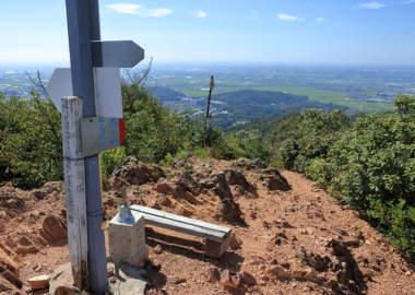 大小山の頂上からの眺望