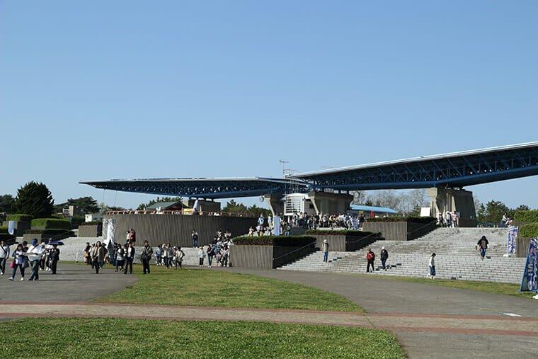 ひたち海浜公園の西口ゲート
