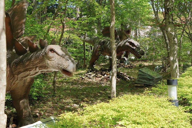 ブランヴェール那須の恐竜