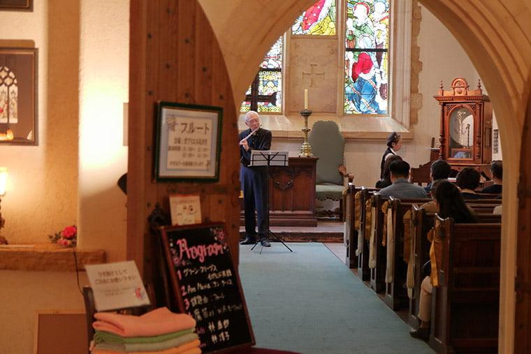 セント・ガブリエル礼拝堂でのコンサート