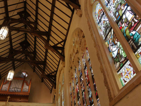 セント・ラファエル礼拝堂のパイプオルガン