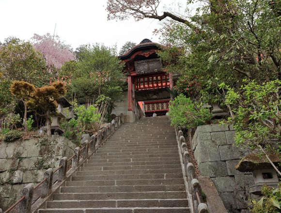大平山神社の石段