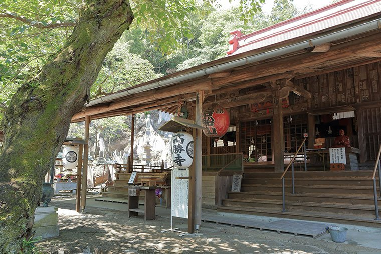 高勝寺の本殿