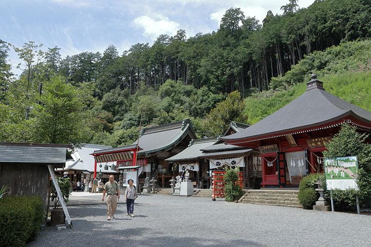 太平山神社と大平山