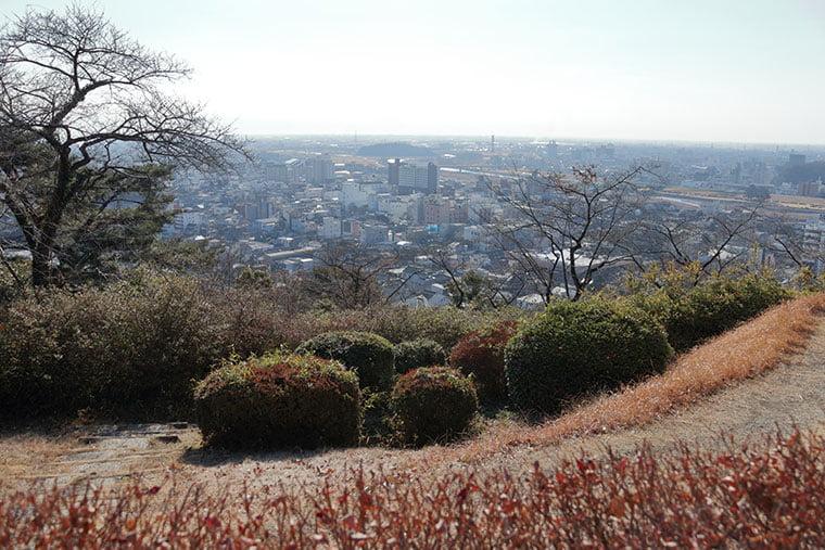 織姫公園からの眺望