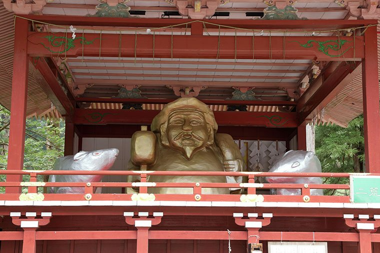 日光二荒山神社の大黒様
