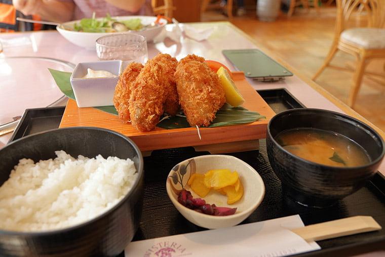 ウェステリア(レストラン)のカキフライ定食