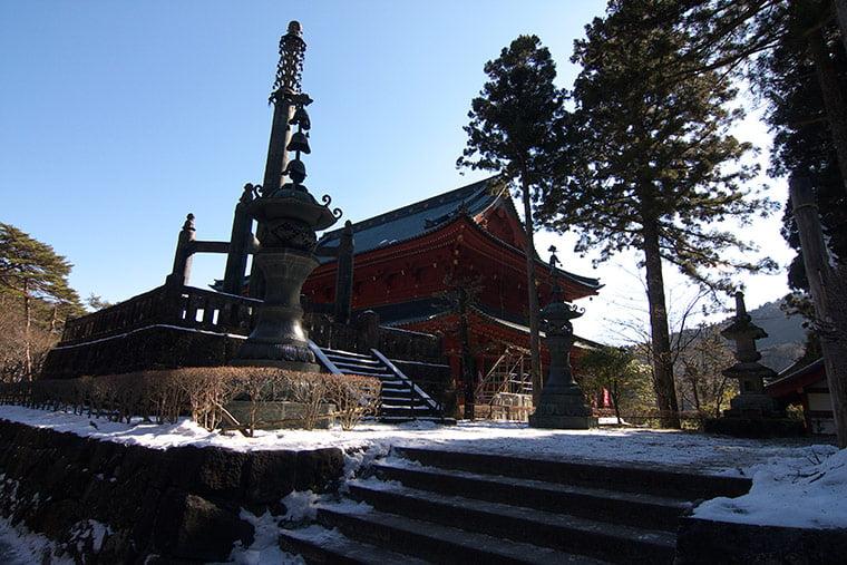 輪王寺の相輪塔