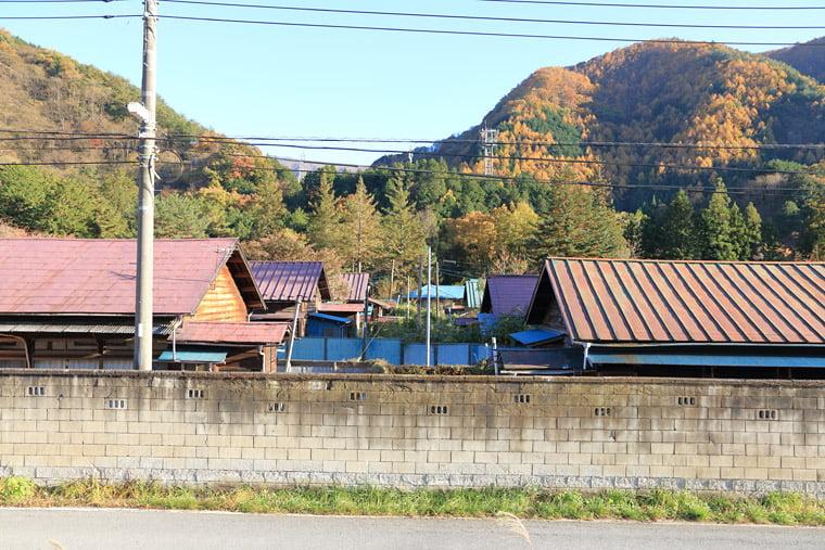 足尾銅山住宅