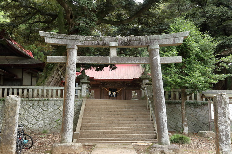 雨引千勝神社