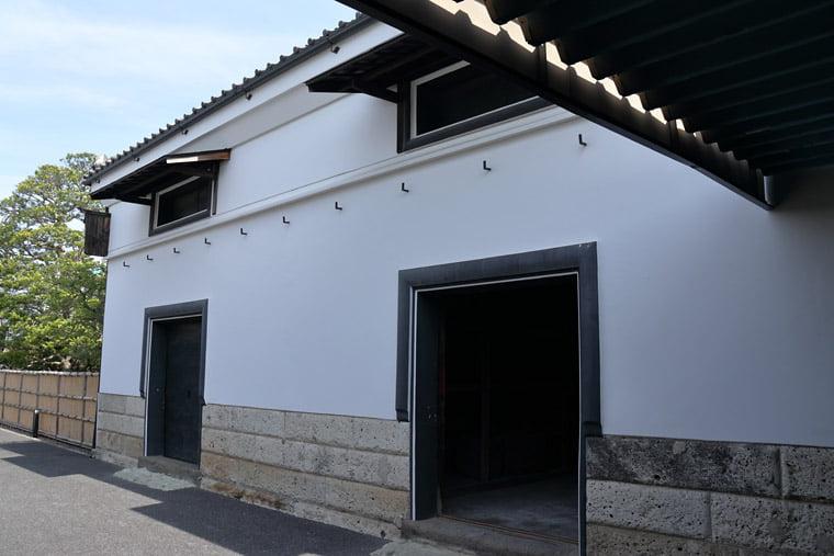小川家住宅の肥料蔵
