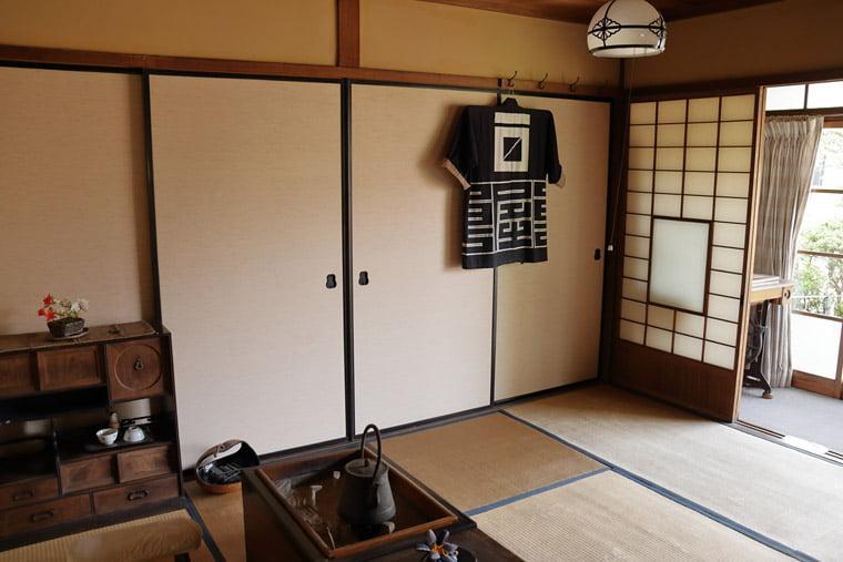 小川家住宅の一階