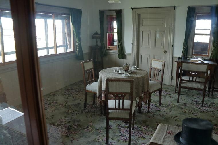 小川家住宅の洋室