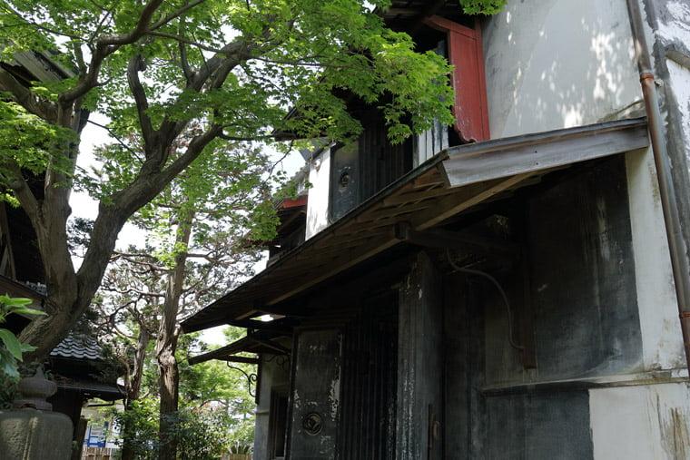 小川家住宅の土蔵