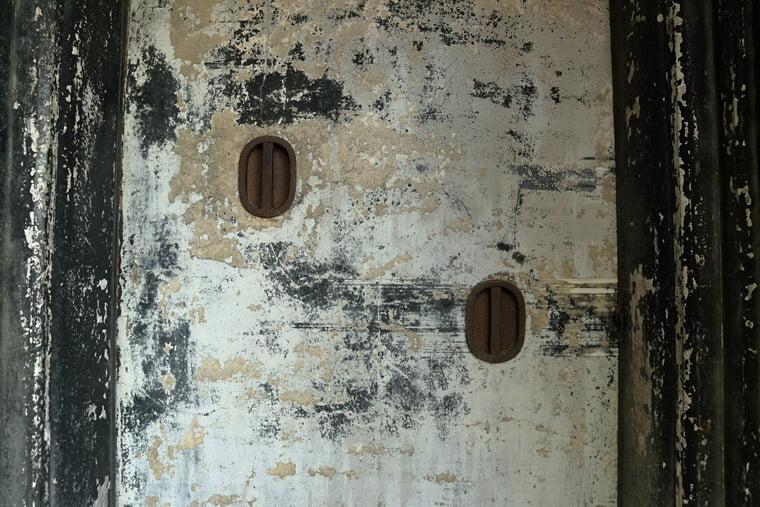 小川家住宅の土蔵の土壁
