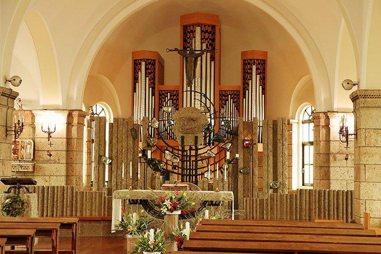 カトリック松が峰教会のパイプオルガン