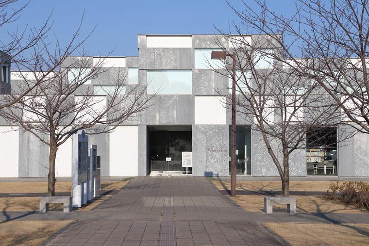 予科練平和記念館の外観正面