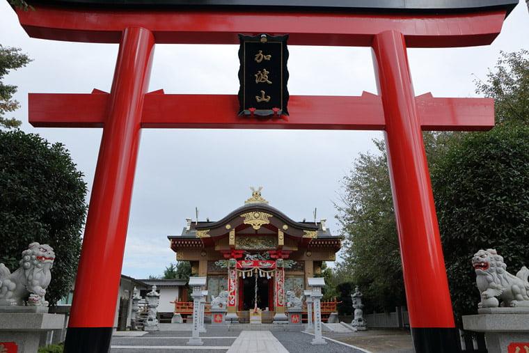 加波山神社真壁拝殿