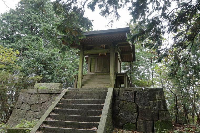 加波山神社本殿(奥の院)