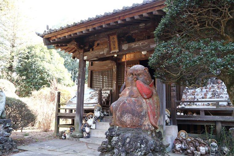 茂林寺の守鶴堂