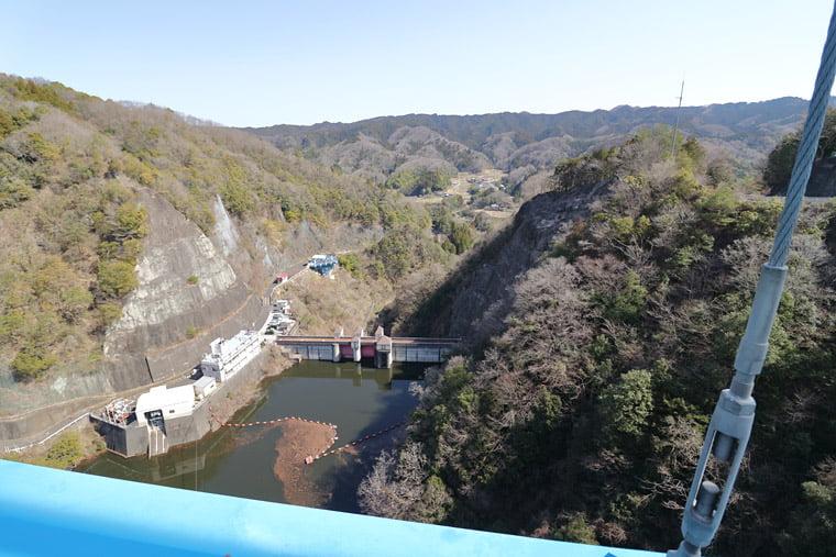 竜神大吊橋からの絶景