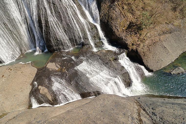 袋田の滝の滝壺