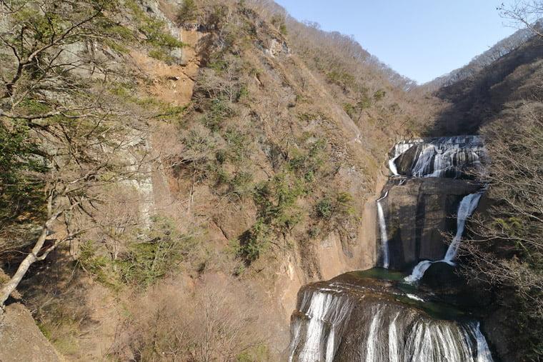 袋田の滝 第二観瀑台から