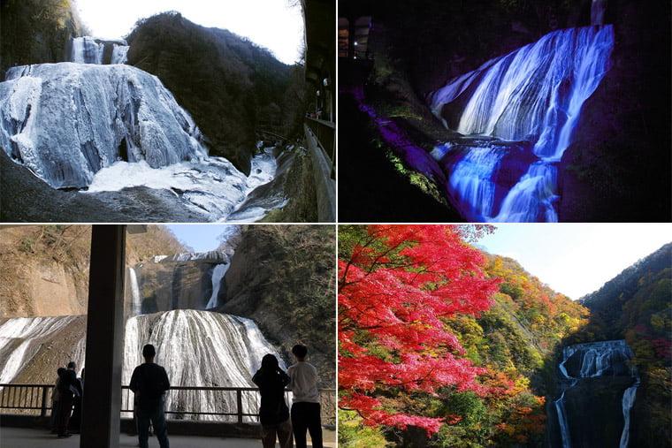袋田の滝の四季
