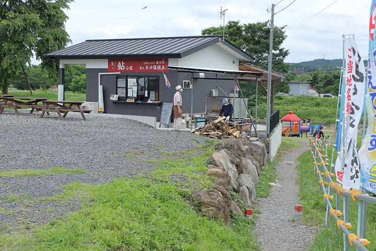 喜連川の鮎小屋