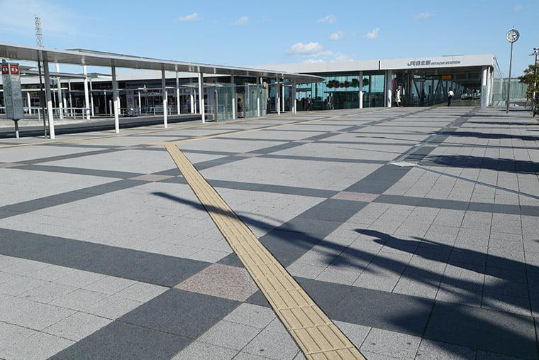 日立駅の外観