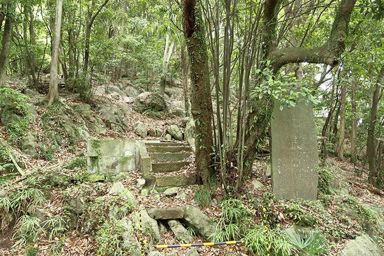 磯山三峰神社跡