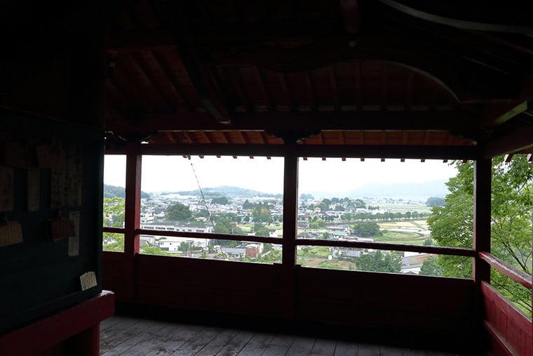 磯山弁財天からの眺望