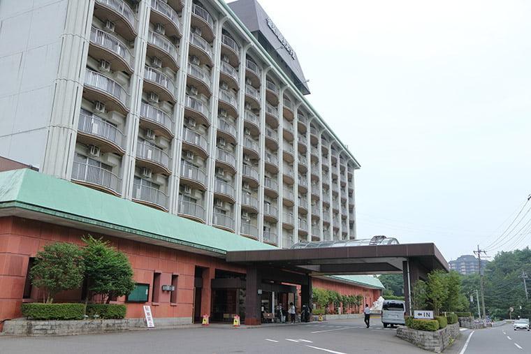 鬼怒川ロイヤルホテルの外観