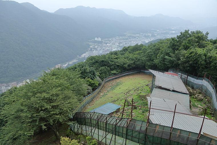 空中庭園展望台からの眺望